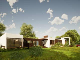 Casa Figueroa Casas de estilo minimalista de LiberonArquitectura Minimalista