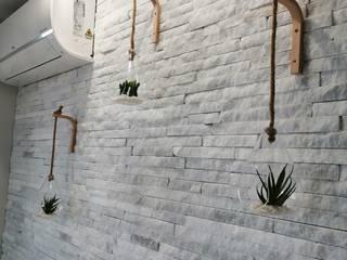 Tiras de Mármore LusoPedra Casas de banho modernas Mármore Branco