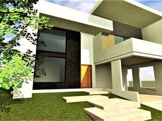Arquitecto Eduardo Carrasquero Eengezinswoning Beton Wit