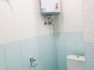 Nowoczesna łazienka od Прямой Угол Nowoczesny