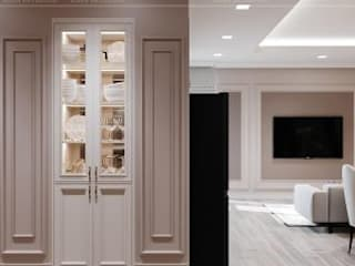 BELLEZA - Nơi tinh hoa của SG. Hành lang, sảnh & cầu thang phong cách hiện đại bởi Thiết kế nội thất ICONINTERIOR Hiện đại