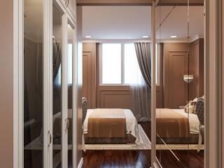 BELLEZA - Nơi tinh hoa của SG. Phòng ngủ phong cách hiện đại bởi Thiết kế nội thất ICONINTERIOR Hiện đại