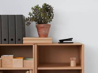 Pappmöbel fürs Büro von Stange Design Minimalistisch