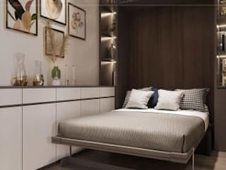 HADO CENTROSA -118 Đường 3 Tháng 2, Phường 12, Quận 10 Phòng ngủ phong cách hiện đại bởi Thiết kế nội thất ICONINTERIOR Hiện đại