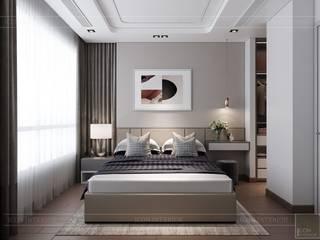 KINGDOM 101- 332 Tô Hiến Thành, Phường 14, Quận 10, Phòng ngủ phong cách hiện đại bởi Thiết kế nội thất ICONINTERIOR Hiện đại