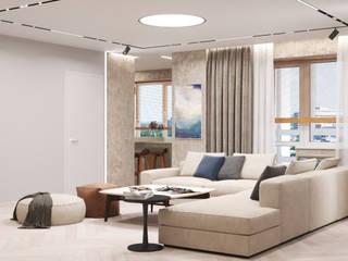 Квартира для семейной пары в г.Киев, 90м2 от Design.Domino Эклектичный
