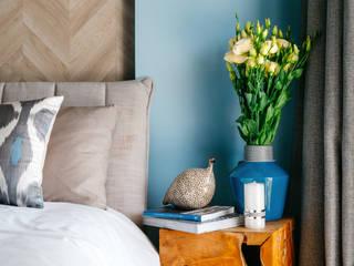Mediterranean style bedroom by DARIA PIKOVA DESIGN COMPANY Mediterranean