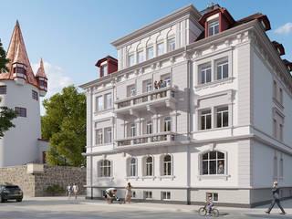 Gründerzeitvilla am Bodensee - Visualisierung eines geschmackvollen Wohnhauses von PerspektiveEins Klassisch