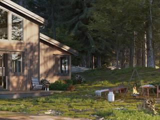 Komfortables Wochenendhaus in den Bergen von PerspektiveEins Landhaus