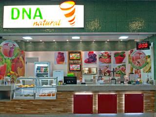 Projeto Comercial - DNA NATURAL Rubiana teixeira Barbosa ME Shopping Centers modernos
