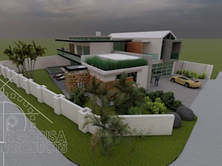 Concept Design - Golf Estate by KGOBISA PROJECTS