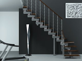 RINTAL Stairs Solid Wood Wood effect