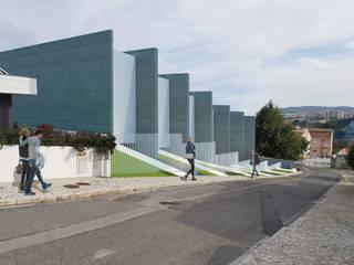 Condomínio Privado Casas modernas por Meireles Cabral Arquitectos Moderno