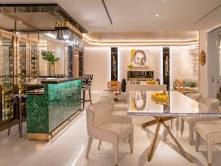 Glamorous Modern Home Modern dining room by Design Intervention Modern