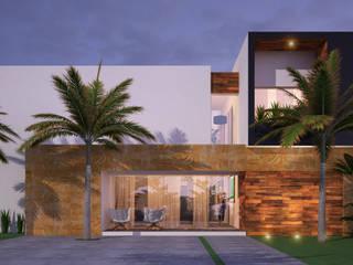 CASA CIPRESES Casas modernas de ARQUITECTOS AJ Moderno