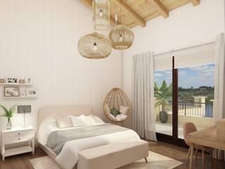 DULLITA 3D Design Teen bedroom Wood effect