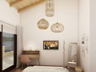DULLITA 3D Design Girls Bedroom Beige
