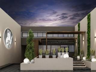 DULLITA 3D Design Modern Houses Iron/Steel Metallic/Silver