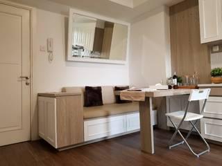 Greenlake Apartment Oleh Interior Kaka Permata Mediteran