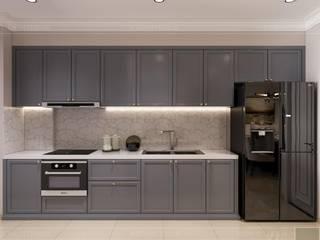 Biến tấu thiết kế nội thất căn hộ Golden Masion đẹp mê ly Nhà bếp phong cách hiện đại bởi Thiết kế nội thất ICONINTERIOR Hiện đại