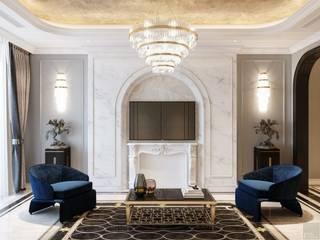 Opal tower - Thiết kế căn hộ Opal Tower giàu xúc cảm trong đường cong quyến rũ bởi Thiết kế nội thất ICONINTERIOR Hiện đại