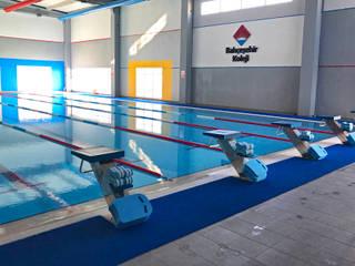 TORBALI BAHÇEŞEHİR KAPALI YÜZME HAVUZU Modern Havuz 4R MUHENDISLIK LTD STI Modern