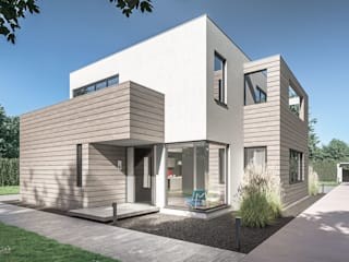 Pool Villa 3dworks visual computing Moderne Häuser