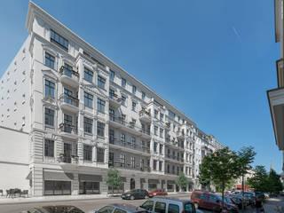 Altbausanierung in Berlin Mitte 3dworks visual computing Klassische Häuser