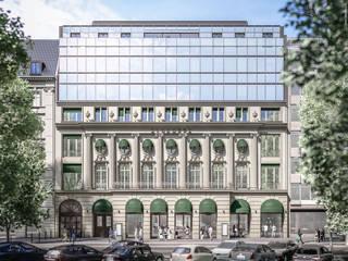 Alhambra / Fassadenrekonstruktion am Kurfürstendamm, Berlin 3dworks visual computing Klassische Häuser