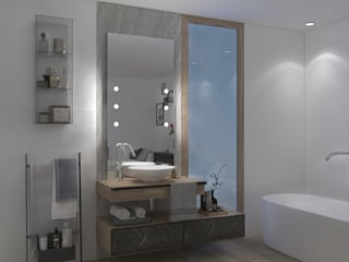 Modern style bathrooms by Unica by Cantoni Modern