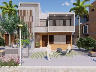 Humble Lives Minimalist house by Svamitva Architecture Studio Minimalist