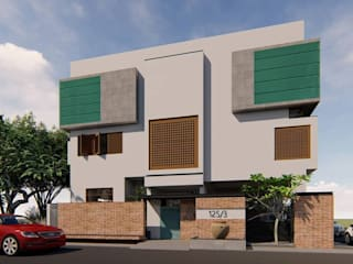 House of Temple Tree by Svamitva Architecture Studio Minimalist