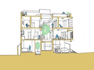 House of Temple Tree by Svamitva Architecture Studio Modern