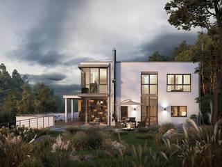 Traumhaus auf den Kanaren - Architektur Visualisierung von PerspektiveEins Modern