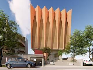 Co.Lab Modern Houses by Svamitva Architecture Studio Modern