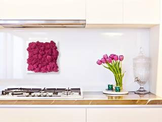 Solmayan Yosun Tablo Lilac Dream silvanus dikey bahçeler