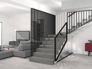 Casa C Soggiorno moderno di SIMONETTA ARREDA Moderno
