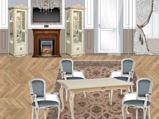 Классика навсегда Гостиная в классическом стиле от SKRIPNIK DESIGN Классический