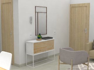 Decó ambientes a la medida Ruang Keluarga Gaya Skandinavia