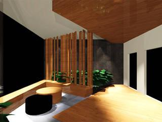 Ro Pinheiro Hành lang, sảnh & cầu thang phong cách hiện đại