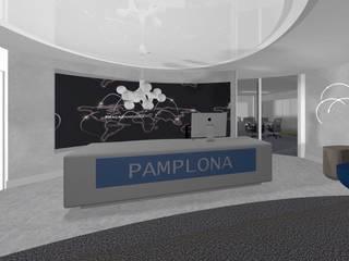 Ro Pinheiro Phòng học/văn phòng phong cách tối giản