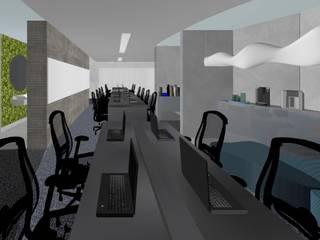 Estudios y oficinas minimalistas de Ro Pinheiro Minimalista