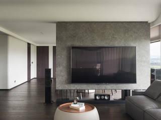 Livings de estilo minimalista de WID建築室內設計事務所 Architecture & Interior Design Minimalista