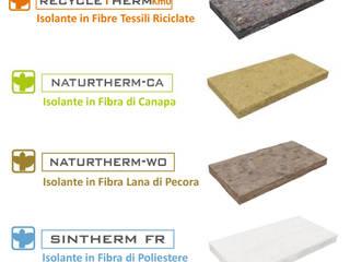 Manifattura Maiano S.p.a. - Produzione di isolanti termoacustici in fibre naturali e riciclate. Pareti & Pavimenti in stile industriale di Manifattura Maiano spa Industrial