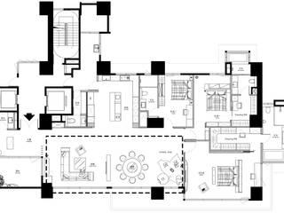 de WID建築室內設計事務所 Architecture & Interior Design Minimalista