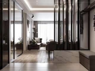 Hà Đô Centrosa và mẫu thiết kế nội thất dậy sóng bởi Thiết kế nội thất ICONINTERIOR Hiện đại