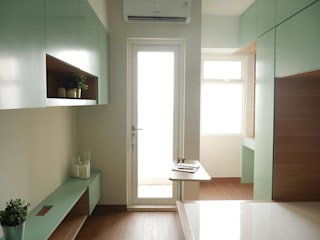 Springlake Apartemen Bekasi Oleh Interior Kaka Permata Minimalis