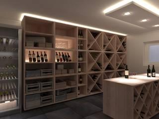 Bodegas de vino de estilo moderno de Karl Kaffenberger Architektur | Einrichtung Moderno