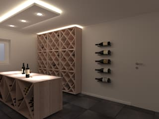 Karl Kaffenberger Architektur | Einrichtung Wine cellar