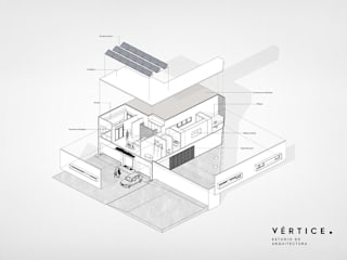 Vértice estudio de arquitectura Single family home